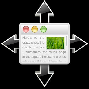 SizeUp: snel je vensters resizen met sneltoetsen