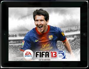 FIFA 13 (toffe iPad game! :))