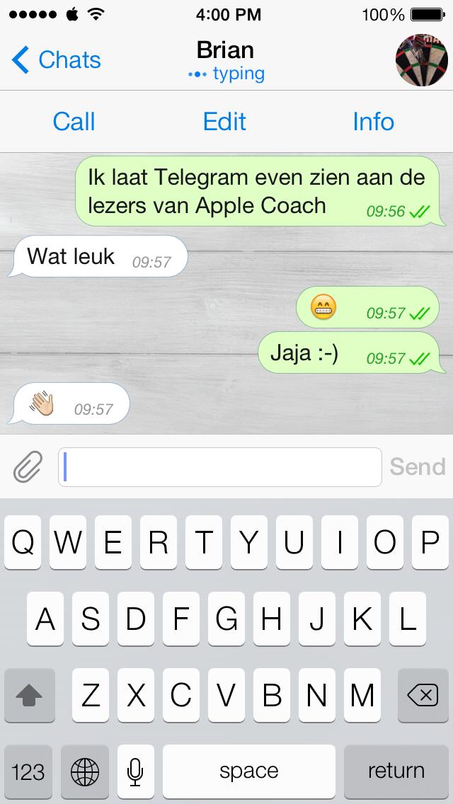 whatsapp gesprek beginnen