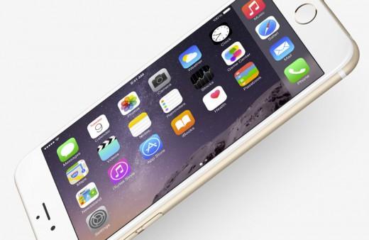 iPhone 6: landschapsmode gebruiken op de iPhone 6 Plus in het thuisscherm