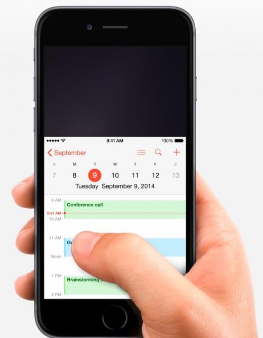 Reachability laat je makkelijker bij de top van een app komen op de iPhone 6