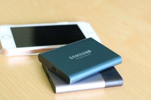 Mijn voorkeur voor externe SSDs gaat uit naar de Samsung T-serie