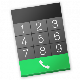 Continuity Keypad gebruiken om te bellen vanaf je Mac (via je iPhone)