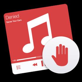 Filter automatisch muziek met behulp van Denied
