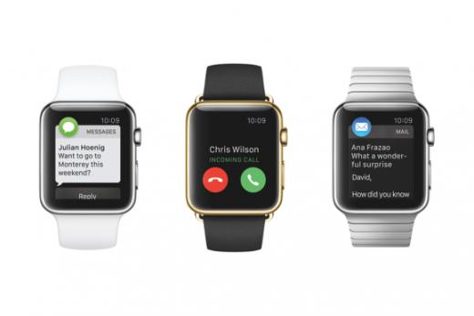 Communiceren via de Apple Watch