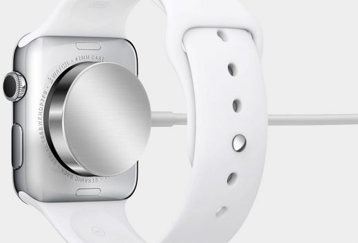 Apple Watch opladen kan eenvoudig via het meegeleverde kabeltje