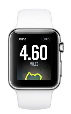 Nike+ op de Apple Watch