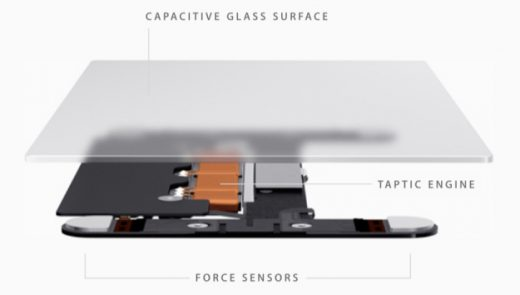 MacBook (2015) met nieuw Force Touch trackpad