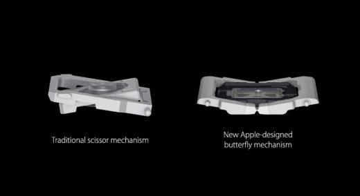 MacBook (2015) met nieuw type toetsen