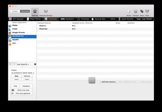Better Touch Tool geeft nog veel meer opties voor je Magic Trackpad