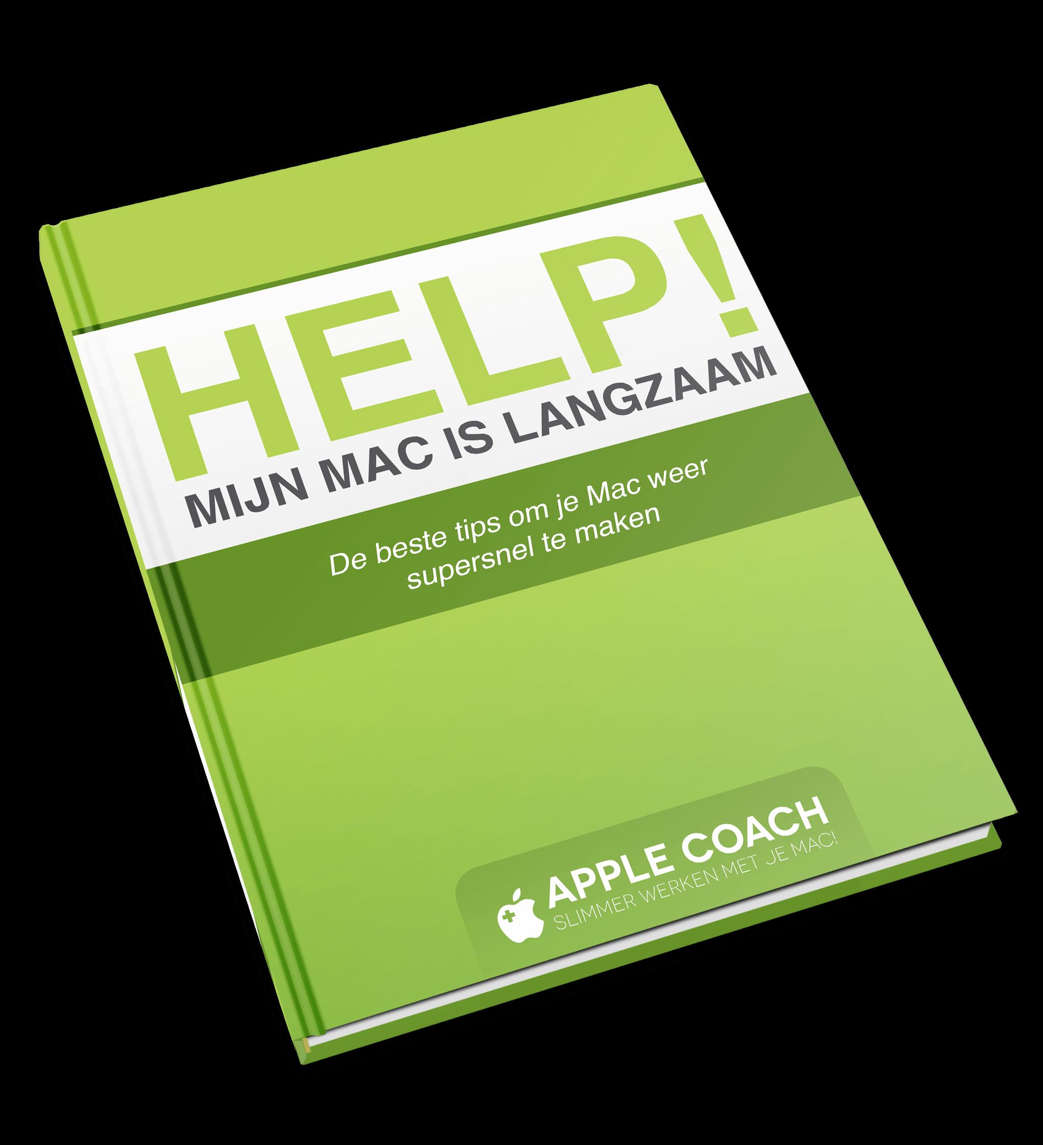 HELP! Mijn Mac is Langzaam