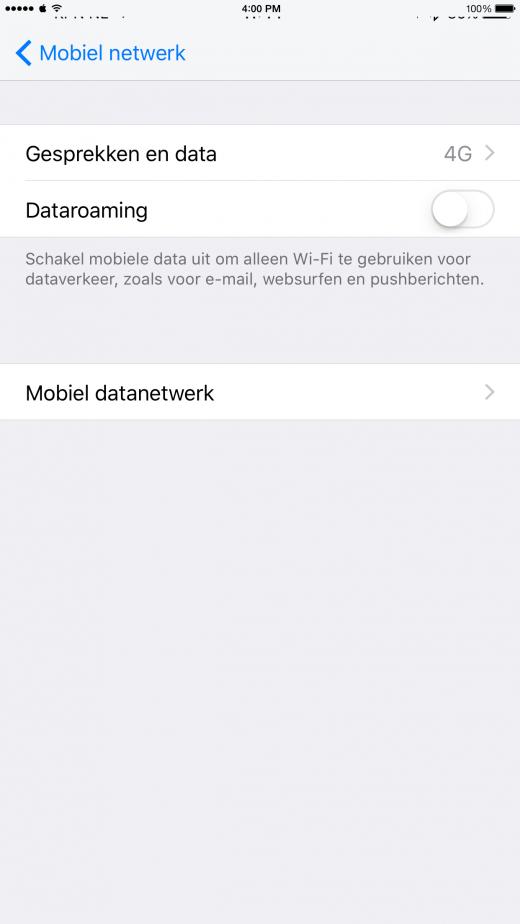 Zet dataroaming uit op je iPhone om hoge kosten in het buitenland te voorkomen