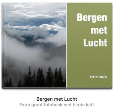 Fotoboek maken met Apple Foto's op je Mac