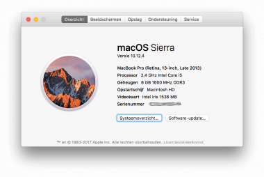 Software updates: iOS 10.3, macOS 10.12.4 en meer!