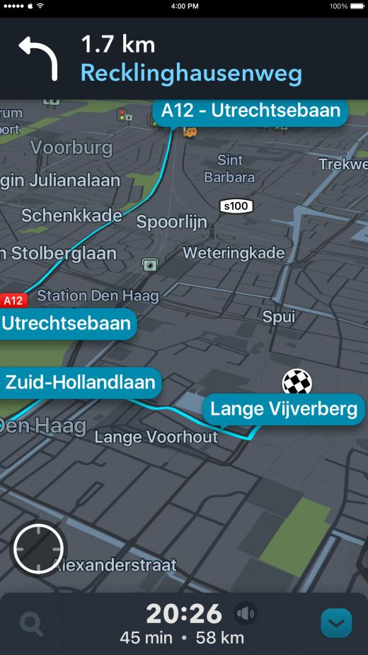 Navigeer zelfs de lastigste routes met Waze
