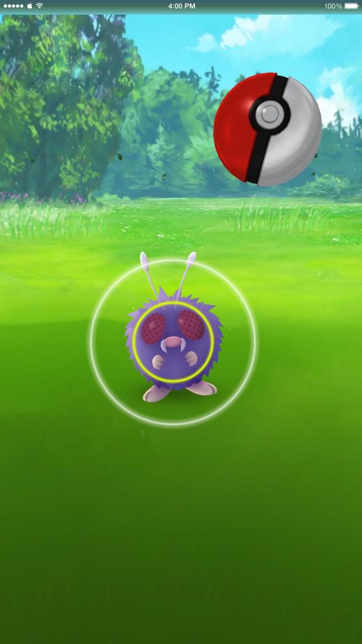 Pokémon Go kon ook gespeeld worden zonder AR, wat het spel soms zelfs makkelijker maakte