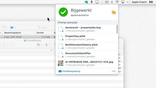 Maak je eigen iCloud alternatief met CloudStation