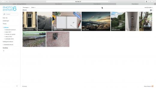 Bouw eenvoudig een foto website met je eigen NAS