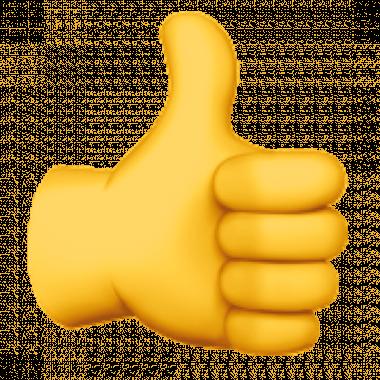 Afbeeldingsresultaat voor duim omhoog emoji