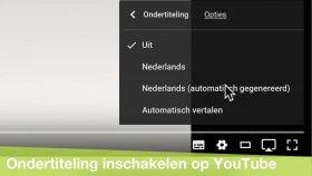YouTube video's met ondertiteling kijken (Mac)