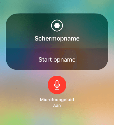 Schermopnames (video) maken van je iPhone of iPad