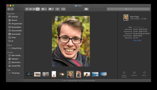 Cover Flow verdwijnt in macOS 10.14, en maakt plaats voor Galerij