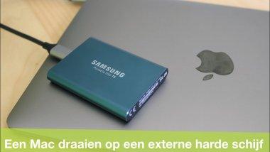 macOS installeren op een externe harde schijf (of SSD!)