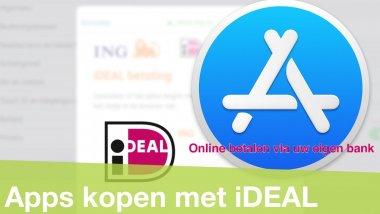 App Store tegoed opwaarderen met iDEAL