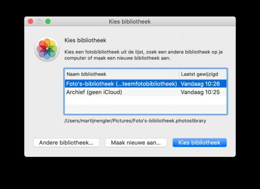 Wil je iCloud Fotobibliotheek alleen gebruiken voor een deel van je foto's, en niet je hele archief? Gebruik dan meerdere Fotobibliotheken