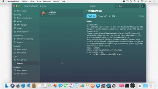 Installeer snel en eenvoudig de laatste versie van een programma met CleanMyMac X