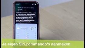 Zelf commando's toevoegen aan Siri