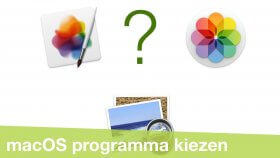 Standaard programma's instellen op je Mac