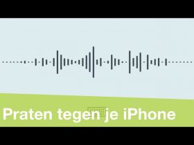 Supersnel typen door niet te typen (iPhone en iPad)