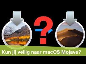 Snel controleren of je programma's nog werken met macOS Mojave