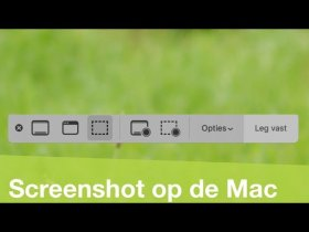 Screenshots maken op je Mac (met macOS 10.14 Mojave!)