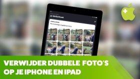 Dubbele foto's verwijderen van je iPhone en iPad