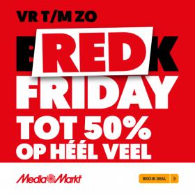 Red Friday: de beste aanbiedingen bij de MediaMarkt