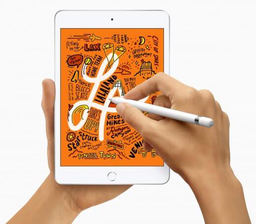 De iPad mini ondersteunt nu ook de (eerste generatie) Apple Pencil