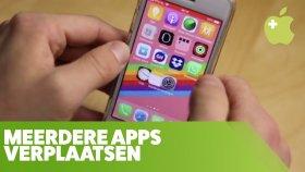 iPhone: meerdere apps tegelijk verplaatsen