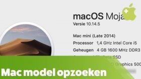 Welke Mac heb ik?