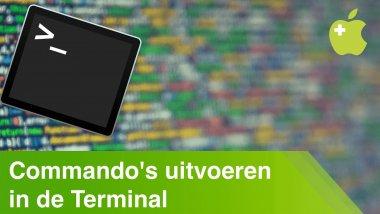 Terminal gebruiken op macOS (ook met sudo)