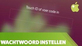 Een wachtwoord instellen op de iPhone of iPad