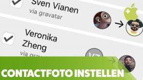 Automatisch goede profielfoto's bij contactpersonen (iPhone)