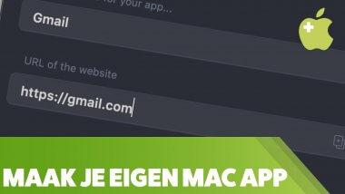 Unite: maak echte Mac apps van web apps
