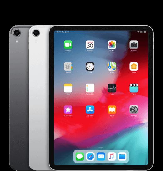Je mag kiezen uit een spacegrijze, of een zilveren, iPad Pro