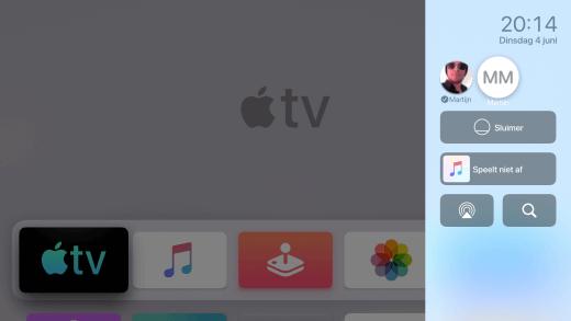Ieder krijgt een eigen profiel in Apple TV, voor persoonlijke adviezen en overzicht