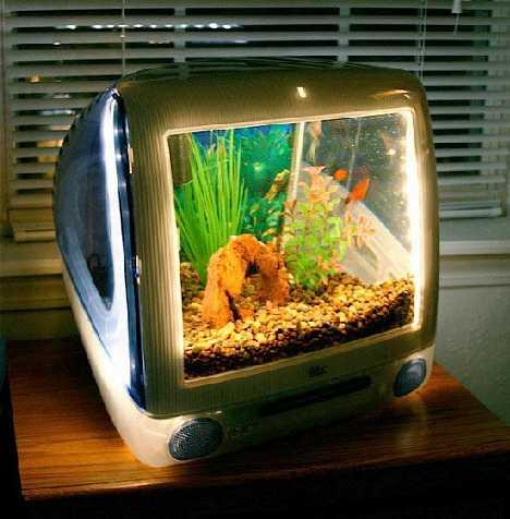 Je Mac niet meer bruikbaar? Maak er een aquarium van!